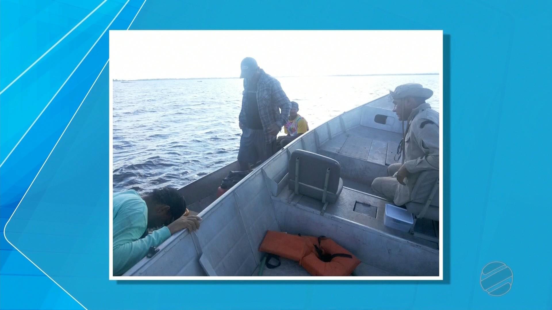Pescadores ficam perdidos por 16 horas em rio e são salvos por celular no Pantanal de MS