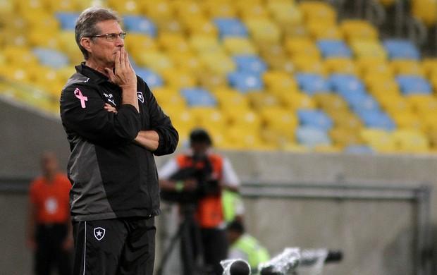 Oswaldo de Oliveira Botafogo x Grêmio (Foto: Satiro Sodré)