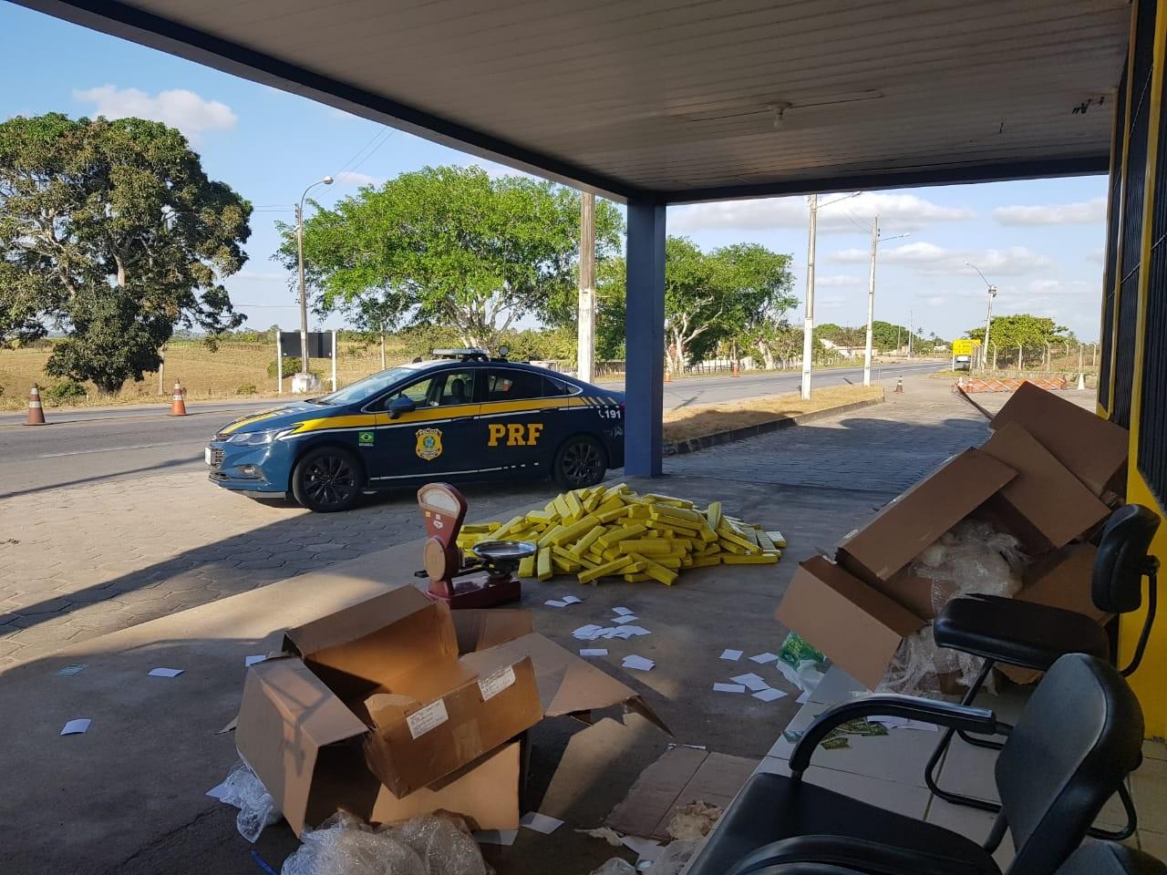 Mulher é presa com 207 kg de maconha em ônibus na BR-101, em São Sebastião, AL - Notícias - Plantão Diário