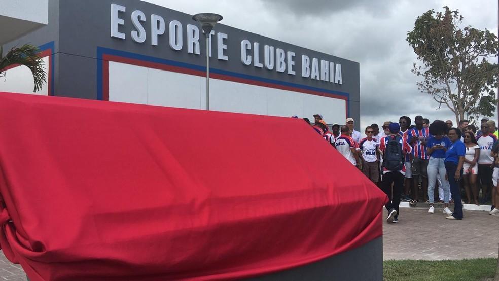 CT Evaristo de Macedo foi inaugurado neste sábado — Foto: Thiago Pereira