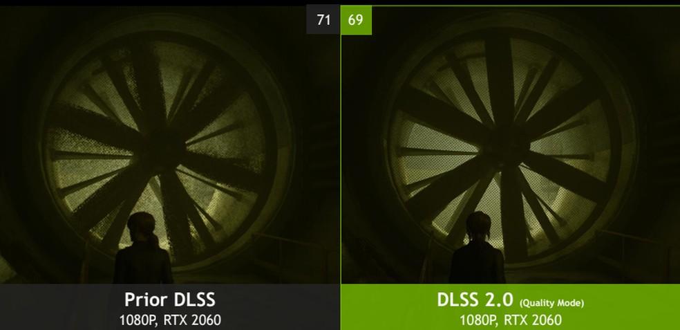 DLSS 2.0 da Nvidia poderia contribuir para que o novo Switch atingisse qualidade gráfica mais próxima a PS5 e Series X — Foto: Divulgação/Nvidia