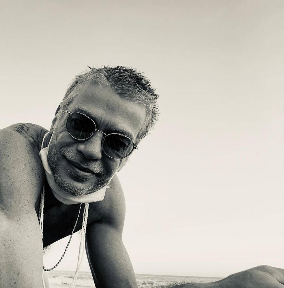 Fabio Assunção celebra 49 anos — Foto: Reprodução/Instagram