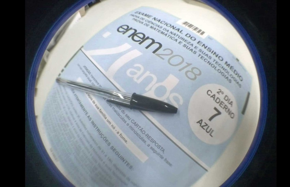 Enem exam in 2018;  test print runs risk after bankruptcy of graphics - Photo: G1 / G1