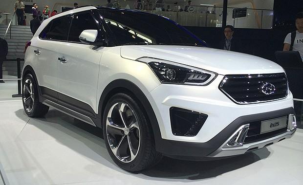 Hyundai Ix25 Aparece Como Conceito Em Pequim Auto