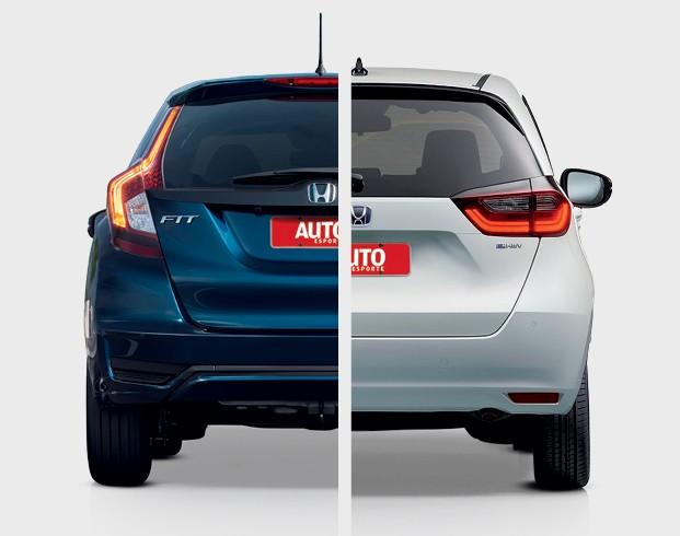 Honda FIt (quarta geração) - Lanternas de LED são tridimensionais e lembram muito as luzes usadas no SUV CR-V. O fato de serem horizontais ajudam a aumentar a sensação de largura do carro (Foto: Divulgação)