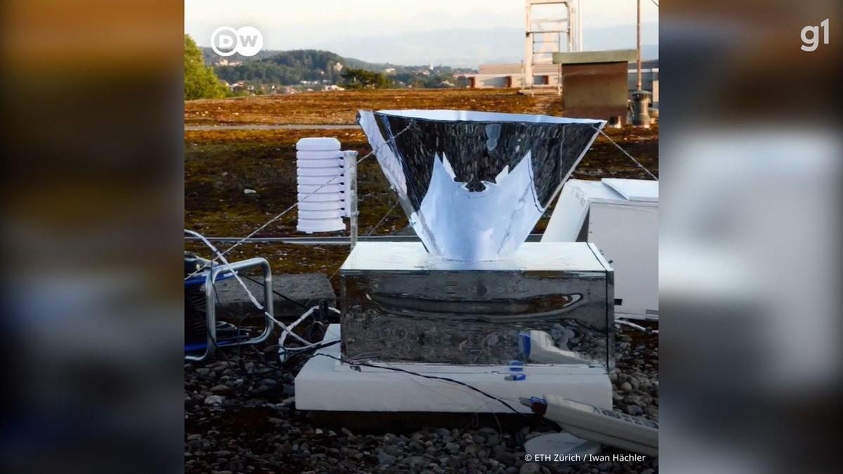 Extraindo água do ar: nova tecnologia quer solucionar escassez de água potável
