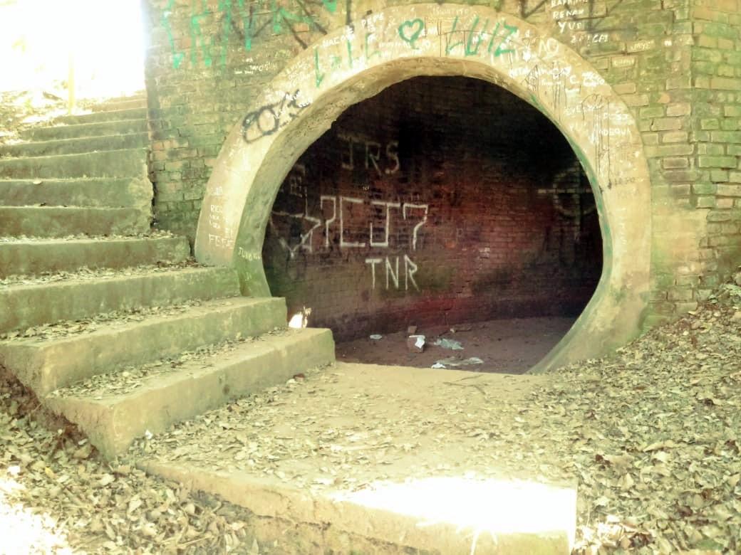 Túnel embaixo do Engenho Central de Piracicaba filtrava fumaça e guarda marcas até hoje - Notícias - Plantão Diário