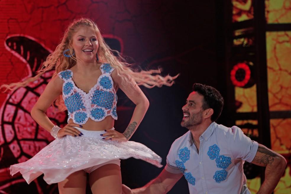 Luísa Sonza participa do 'Dança dos Famosos' — Foto: Joca Costa/TV Globo