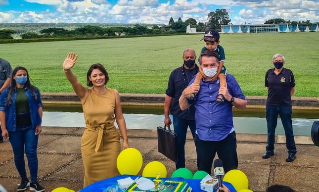 Festa de Bolsonaro