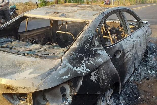 Chevrolet Onix Plus pega fogo pela segunda vez (Foto: Notícias com Maritonio Dantas / Reprodução)