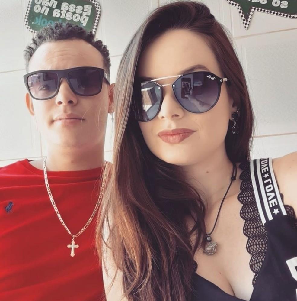 Diego e Larissa se conheceram no ano passado em Macatuba — Foto: Arquivo pessoal