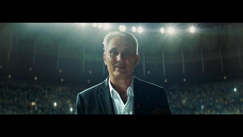 Tite, em imagem de comercial do Itaú (Foto: Divulgação)