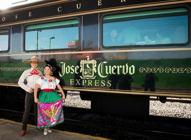 Jose Cuervo inaugura expresso para a fábrica da marca (Foto: Jose Cuervo/ Reprodução)