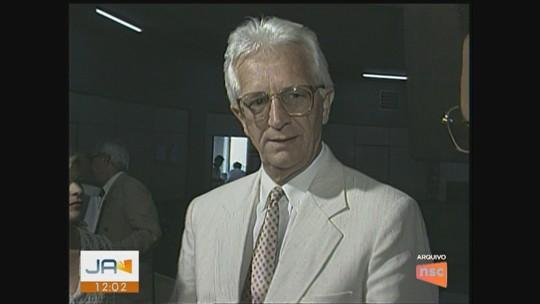 José Augusto Hülse, ex-vice-governador de SC, morre aos 82 anos
