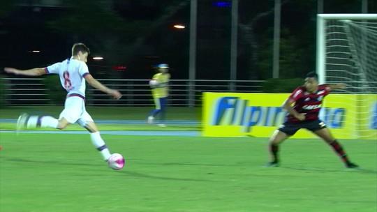 Melhores momentos: Nacional-URU 3 x 0 Flamengo pela Copa RS de futebol sub-20
