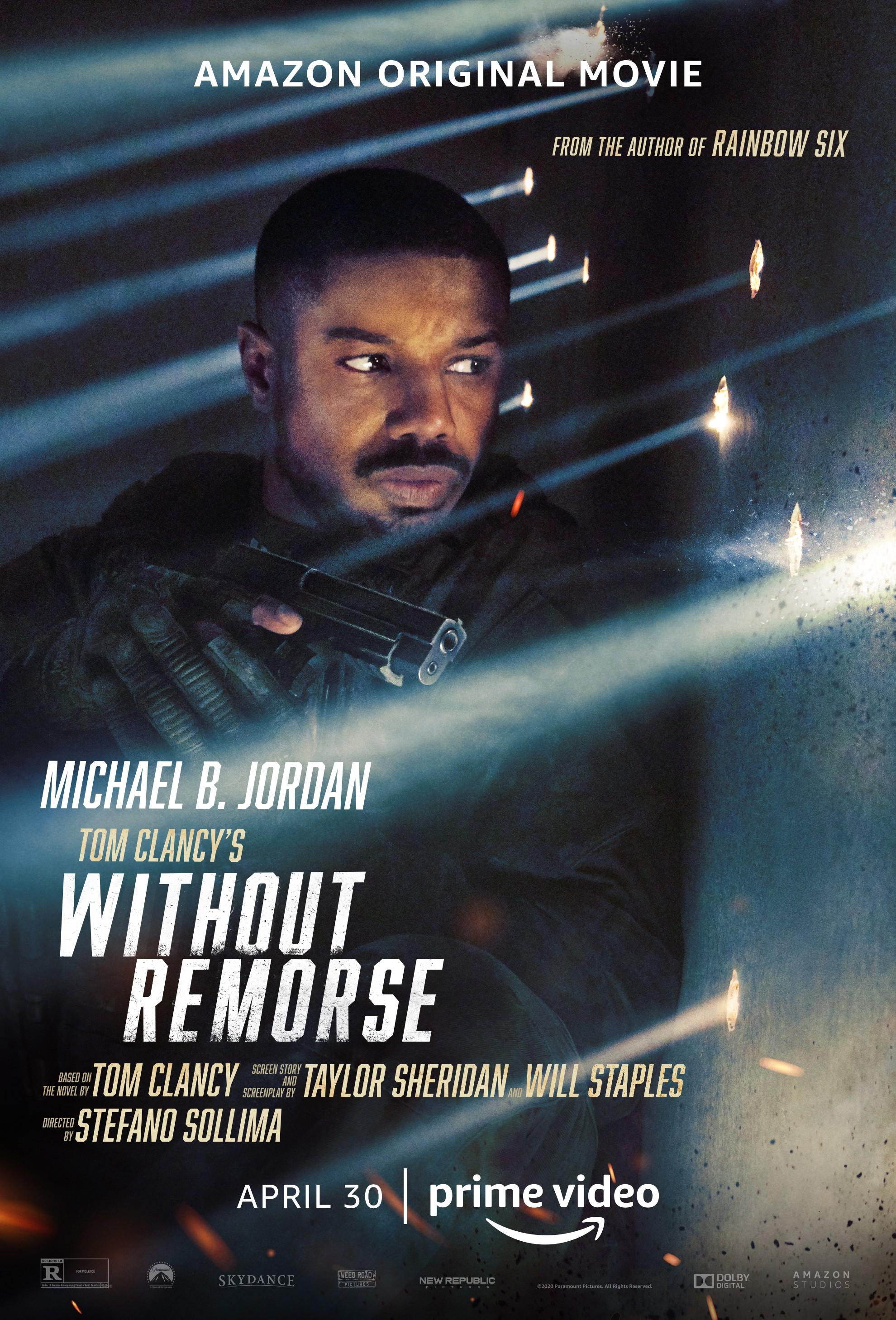 Cartaz de 'Without Remorse' (Foto: Divulgação / Amazon Prime Video)