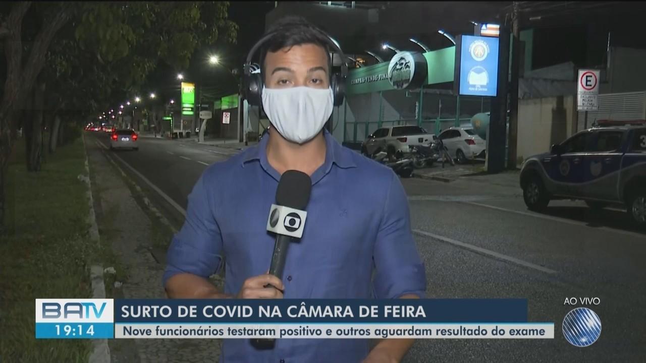 Nove pessoas testam positivo para coronavírus em Feira de Santana; número pode ser maior