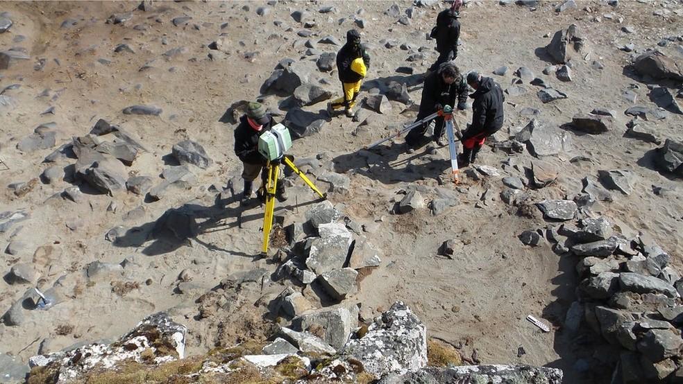 Brasileiros darão início a outra expedição ao continente gelado em poucos dias (Foto: Leach/Divulgação)