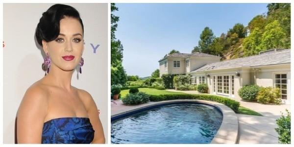"""Katy Perry e sua nova """"mansão de hóspedes"""" em Beverly Hills (Foto: Getty Images / Imobiliária MLS)"""