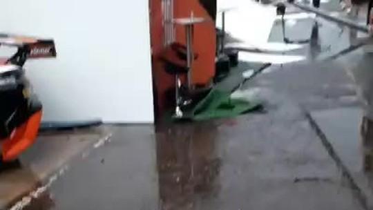 Chuva e ventania causam estragos no autódromo de Londrina antes de etapa da Stock