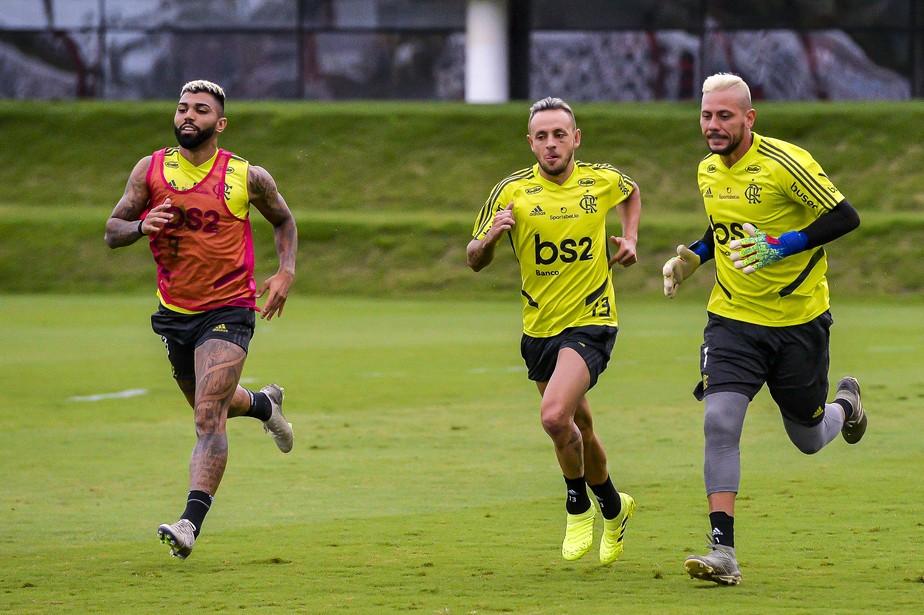 Fim dos festejos, treinos no Ninho e QG em Doha: Flamengo inicia preparação final para o Mundial