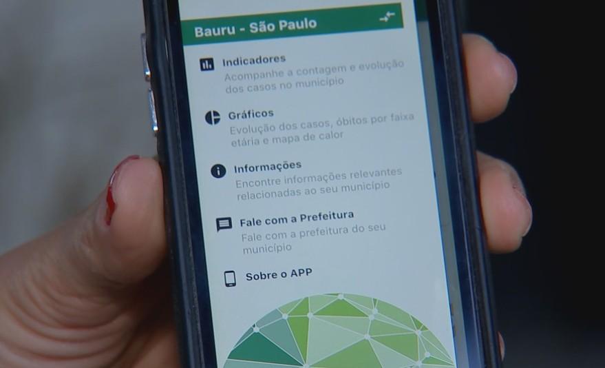 Prefeitura lança aplicativo para moradores acompanharem dados da Covid na região de Bauru