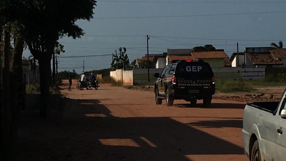 Caso aconteceu no loteamento Brasil, em Macaíba — Foto: Heloísa Guimarães/Inter TV Cabugi