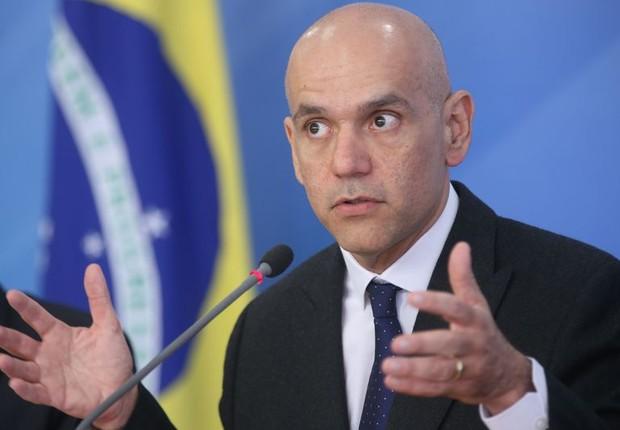 Secretário Marcelo Caetano fala sobre reforma da Previdência (Foto: Antonio Cruz/ Agência Brasil)