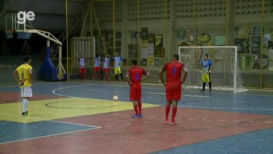 Em noite de virada e oito gols, Filipenses e JES estreiam com vitória na Taça Clube de futsal