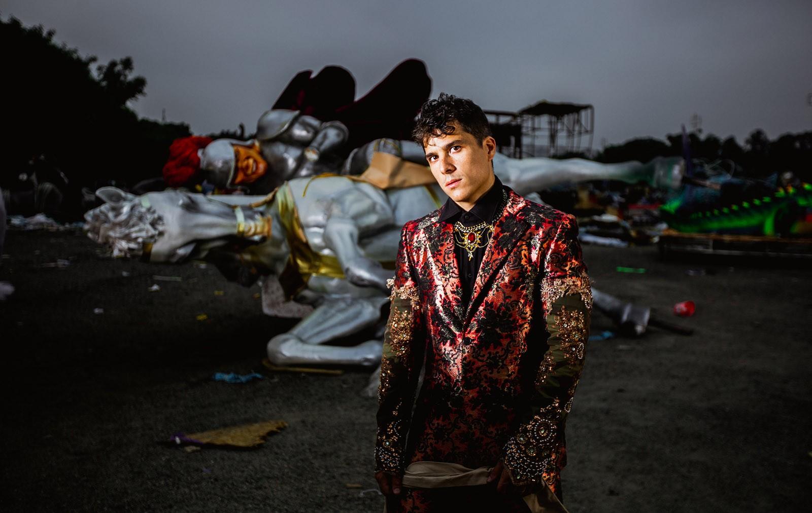 Rodrigo Vellozo tenta abrir alas com o álbum 'O mestre-sala da minha saudade'
