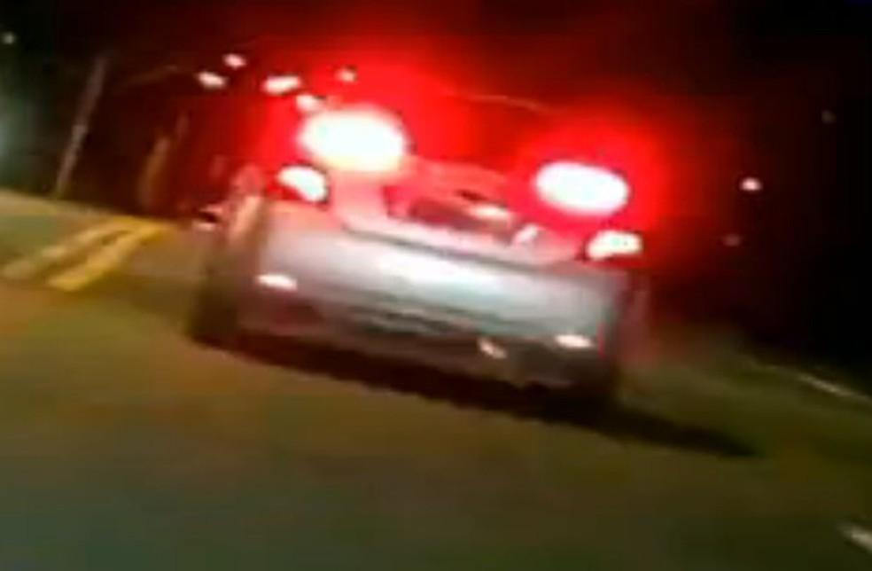 Crime ocorreu em rua de Nova Brasilândia — Foto: Reprodução