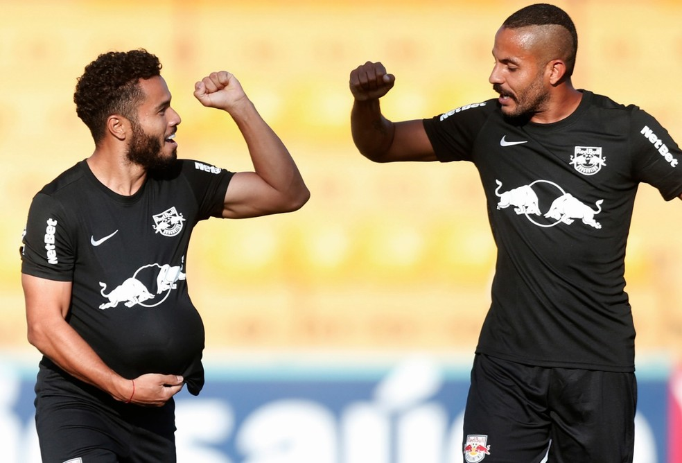 Bragantino foi o melhor time da primeira fase do Paulistão — Foto: Ari Ferreira/Red Bull Bragantino