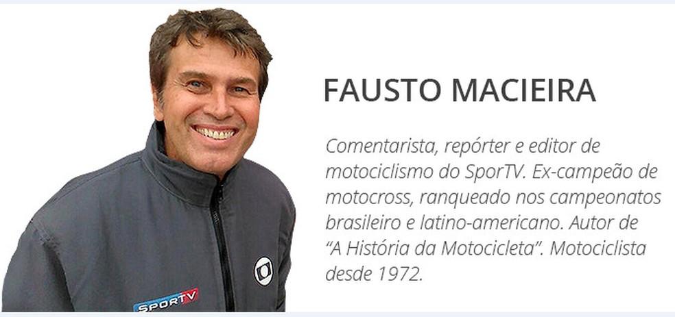 Fausto Macieira (Foto: Divulgação)