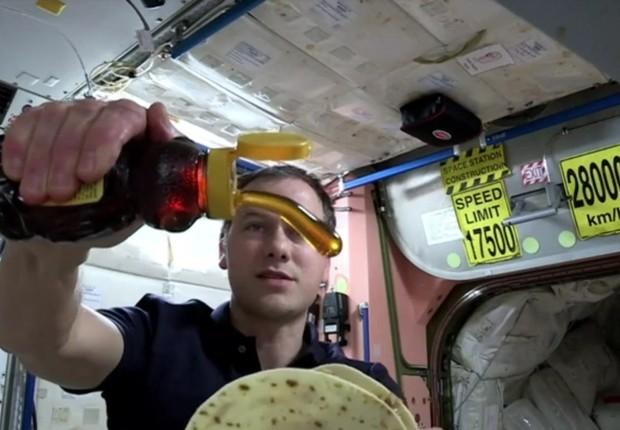 ISS (Foto: Reprodução/BBC)