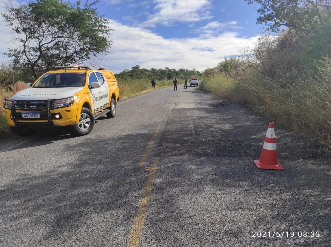 Mulher morre em acidente de moto na RN-089, em Serra Negra do Norte