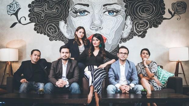 Equipe da Zilingo, startup de moda da Índia (Foto: Reprodução/Zilingo)