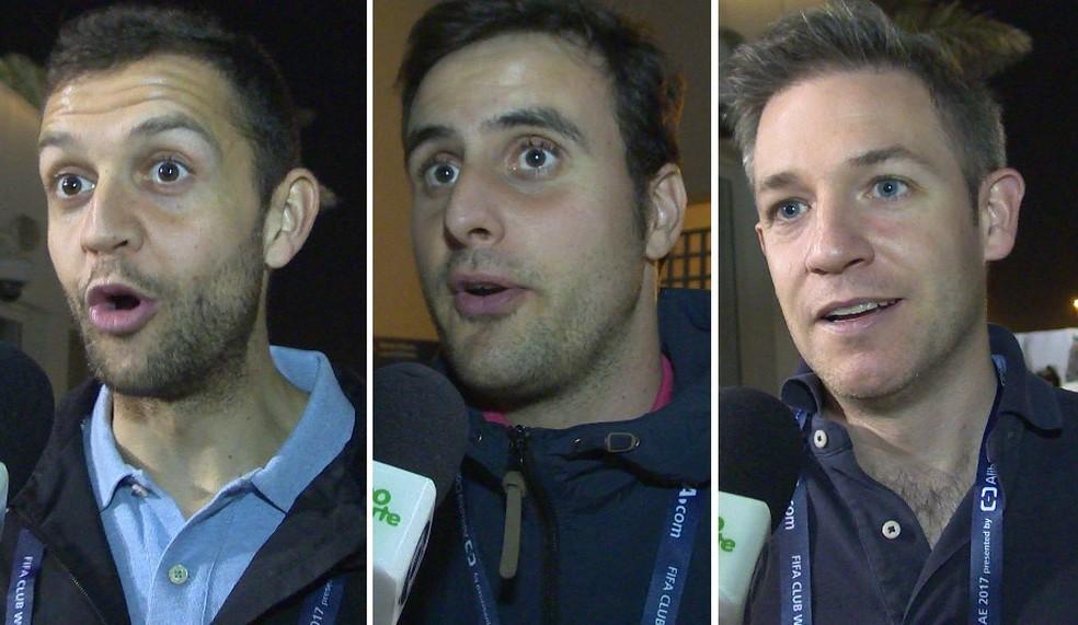 Jornalistas de Madri opinaram sobre declaração de Renato Gaúcho (Foto: Ivan Raupp)