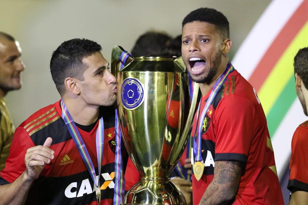 Diego Souza André Sport — Foto: Aldo Carneiro / Pernambuco Press