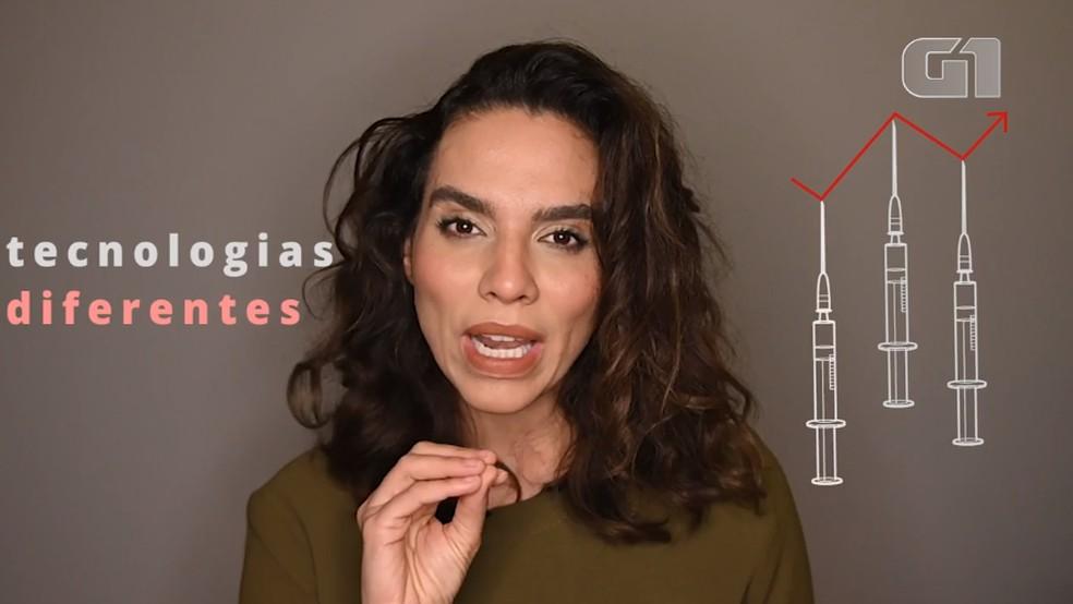 Luana Araújo reação a vacinas — Foto: Arte/G1