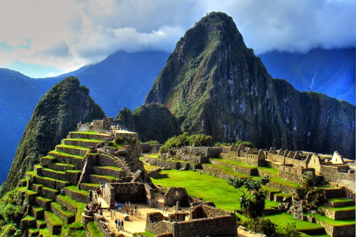 """Também chamada de """"cidade perdidas dos Incas"""", Machu Picchu foi construída em meados do século XV pela civilização pré-colombiana, no território hoje ocupado pelo Peru (Foto: Reprodução)"""