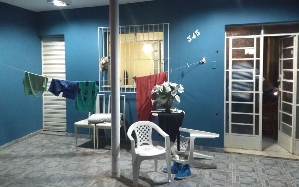 Crime ocorreu dentro da casa da vítima (Foto: Divulgação/Polícia Civil)