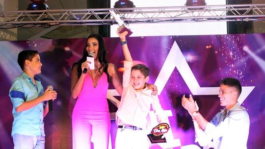 Caio Facchini é o campeão do 'Mini Stars'