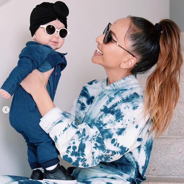 Sabrina Sato combina look com a filha Zoe (Foto: Reprodução/Instagram)