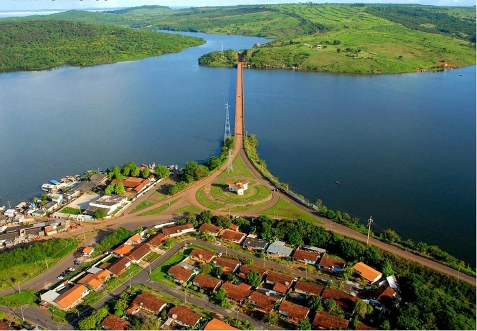 Vista aérea do lago de usina hidrelétrica de Tucuruí, no sudeste do Pará.  — Foto: Divulgação