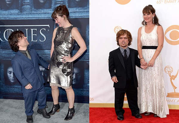 Peter Dinklage e Erica Schmidt (Foto: Getty Images)