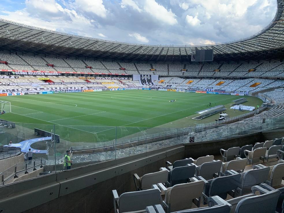 Mineirão voltará a ter torcedores — Foto: Divulgação/Mineirão
