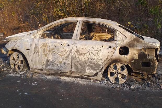 Chevrolet Onix Plus pega fogo no Maranhão (Foto: Notícias com Maritonio Dantas)