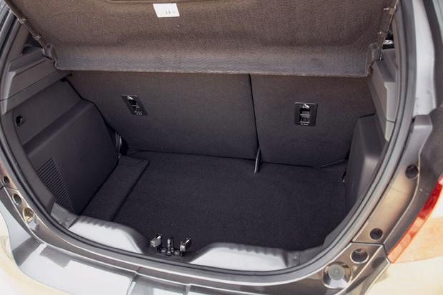 Porta-malas Ford Ka 2020 (Foto: Fabio Aro)