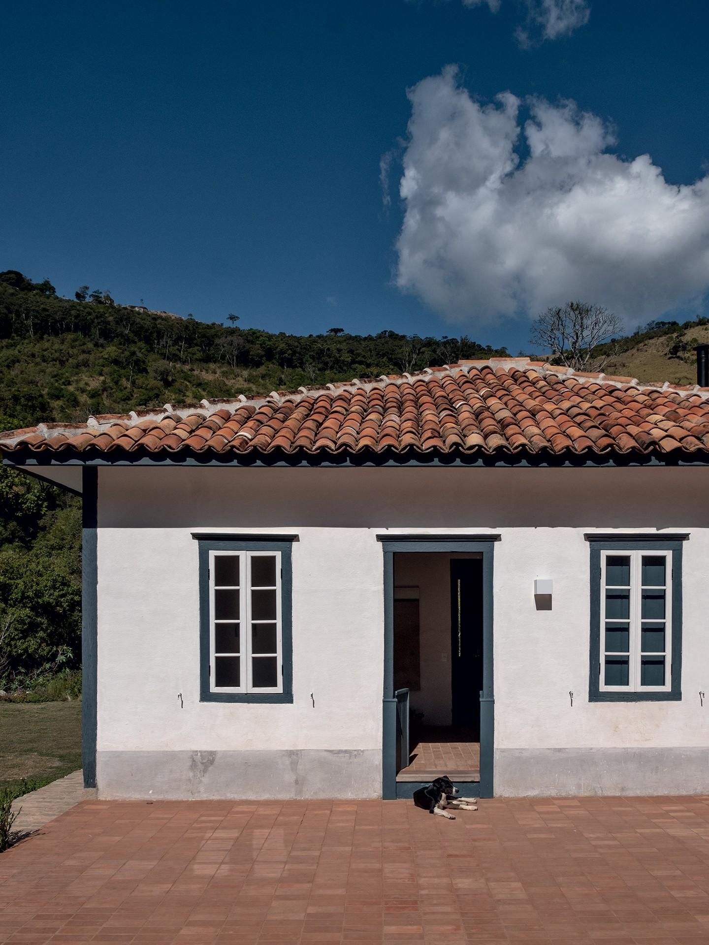 Restaurada, esta casa de pau a pique ganhou novos ares sem perder a história (Foto: Ruy Teixeira)