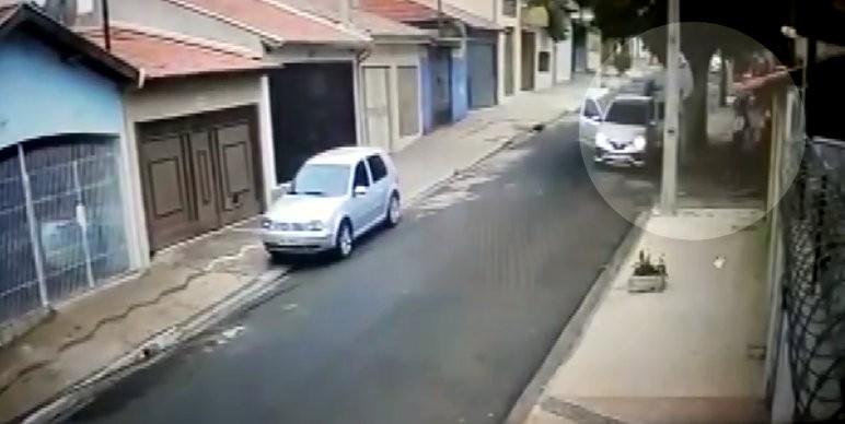 VÍDEO: homem é morto a tiros e outro é baleado em Rio Claro
